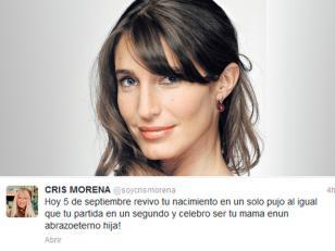 """El emotivo mensaje de Cris Morena a Romina Yan: """"Celebro ser tu mamá en un abrazo eterno"""""""