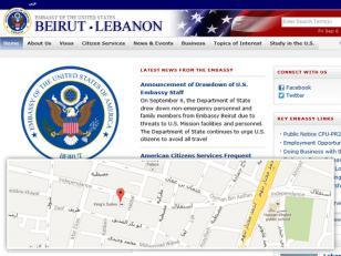 EE.UU. evacua su embajada en Beirut por amenazas