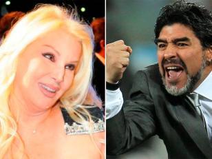Maradona no irá al programa de Susana
