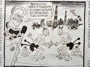 Tokio presenta una queja a París por una viñeta de Fukushima y los JJOO