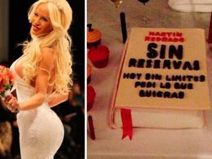 La torta de Luli Salazar para Redrado