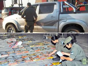 Encuentran más de 400 kilos de cocaína en una camioneta