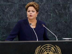 La presidenta de Brasil denunció espionaje de Estados Unidos
