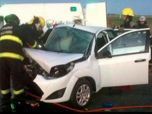 Accidente vial en Córdoba: tres muertos