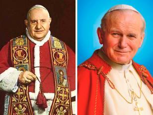 Juan XXIII y Juan Pablo II serán canonizados