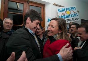 Abal Medina saludó a la nueva intendenta de Bariloche