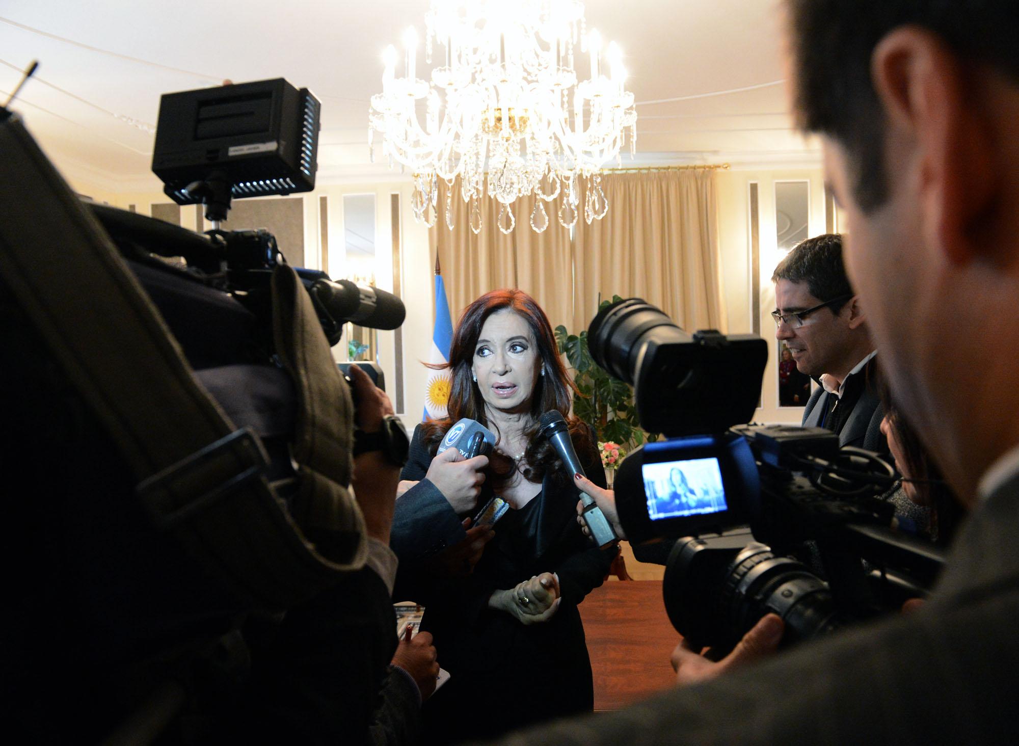 Cristina pide que la ONU solucione el conficto en Siria