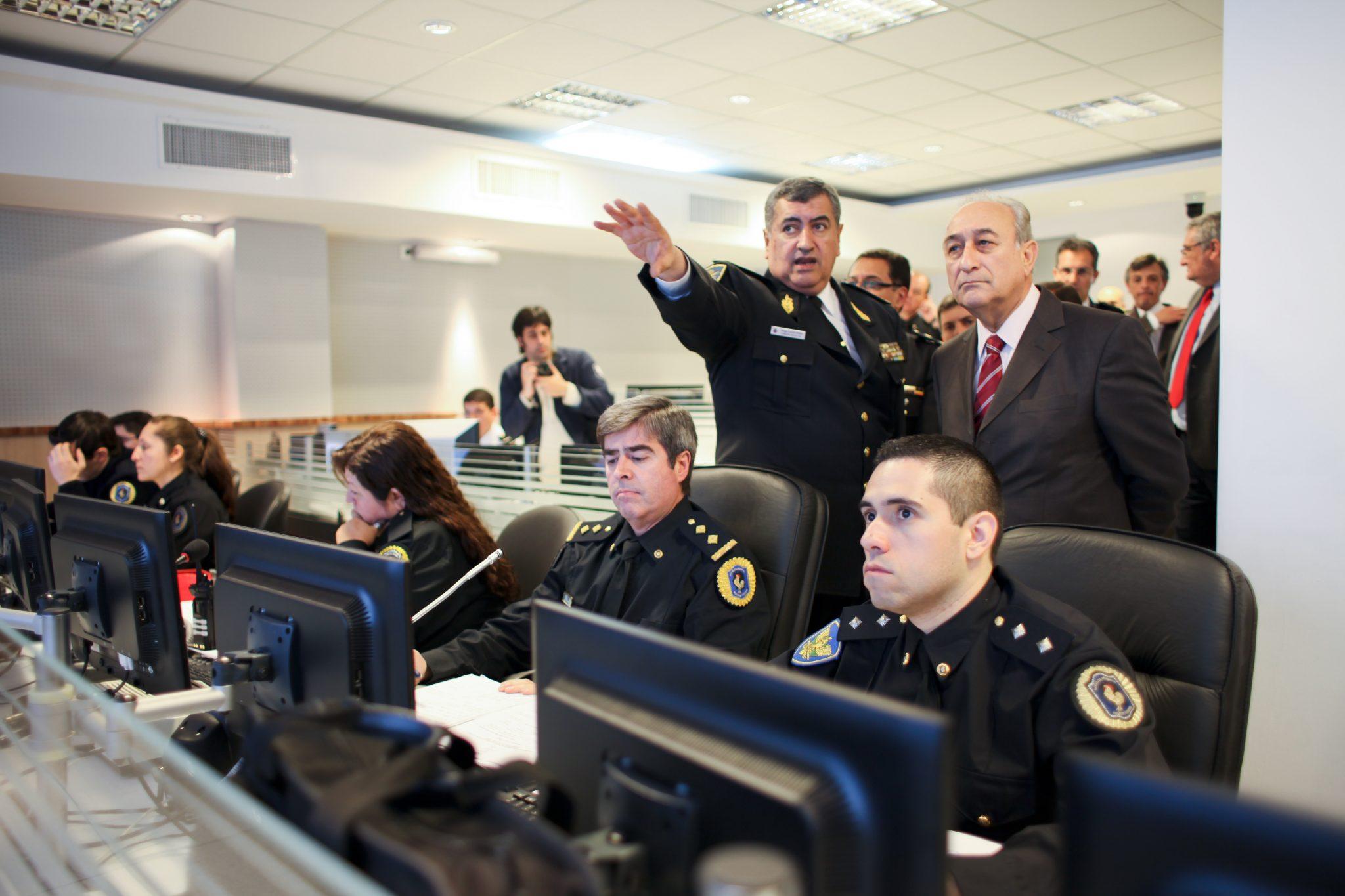 Operativo de seguridad por sesión del Comité Olímpico Internacional