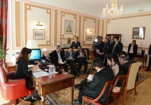 Cristina planteó al G 20 la necesidad de una regulación global en materia de reestructuración de deuda soberana