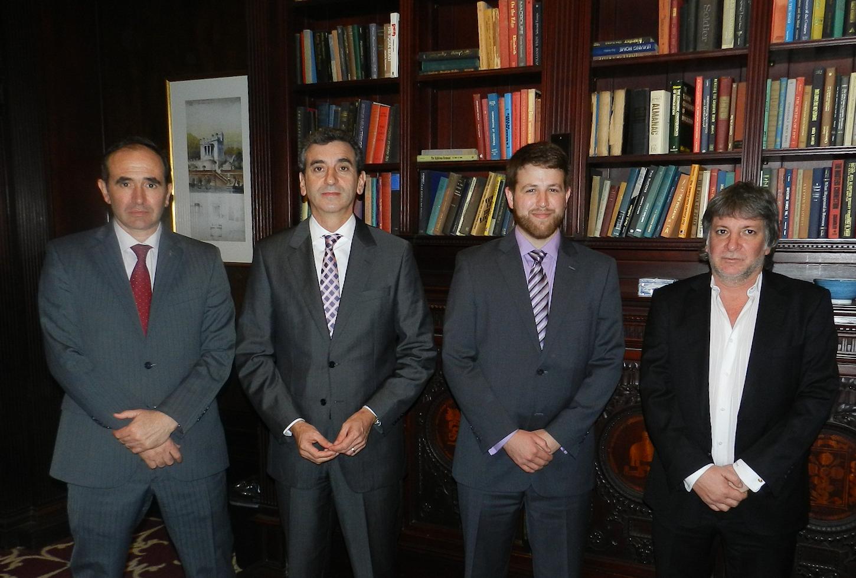 Randazzo se reune con autoridades de universidades estadounidenses para mejorar la regulación del transporte público