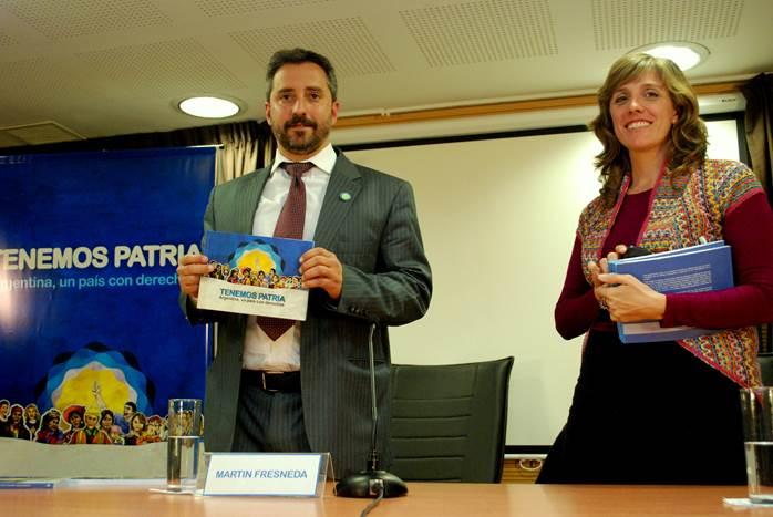 """""""Tenemos Patria: Argentina un país con derechos"""""""