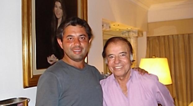 Adrián Menem criticó a su tío Carlos por apoyar al gobierno