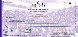 Congreso Nacional de Inclusión y Diversidad 2013