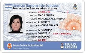 Licencia de conducir : Clasis , tipos y vigencias