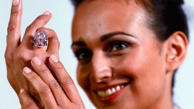 Un diamante valuado en US$ 60 millones de dólares