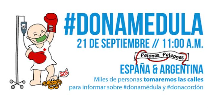 Campaña Donación Médula Ósea España - Argentina