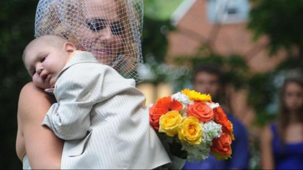 La desgarradora despedida de un nene con leucemia