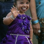 Esta es la mujer más pequeña del mundo