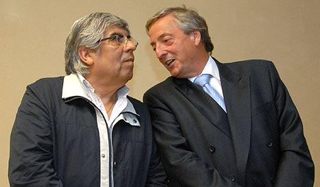 La version de Moyano del último llamado a Néstor Kirchner