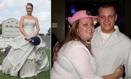 Baja 45 kilos para verse bien el día de su boda