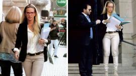 Alejandra Maglietti como abogada