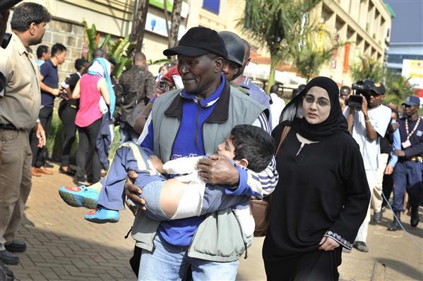 20 muertos en un tiroteo en un centro comercial de Nairobi