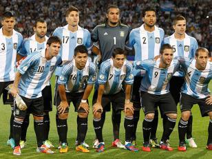 Argentina vs Uruguay con suplentes