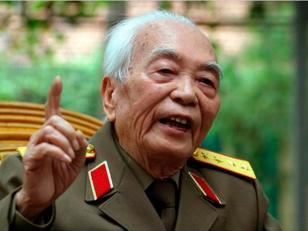 Murió el general Giap