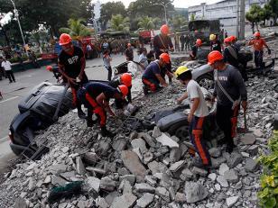 93 los muertos por terremoto en Filipinas