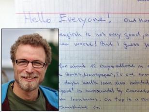 Activista de Greenpeace relata cómo son sus días detenino en la carcel rusa