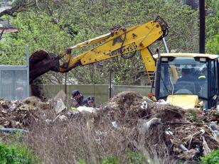 Continuan las excavaciones para buscar a Aída Amoroso