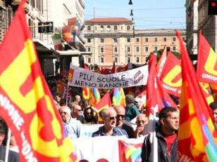 En Italia se teme ante una posible violencia en marcha contra ajuste