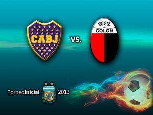 Boca recibe a Colón