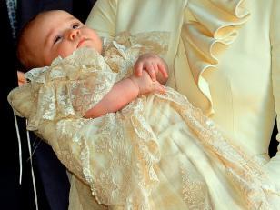 El bautismo del príncipe George, hijo de los Duques de Cambridg