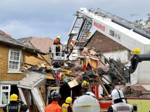 10 muertos en la primera gran tormenta de la temporada en norte de Europa