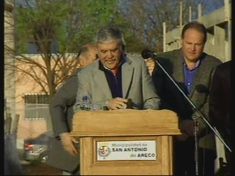 De Vido anunció obras en San Antonio de Areco