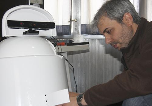 Nuevo robot para cultivos creado por el INTA