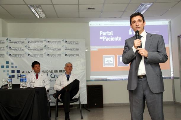 Pacientes del Hospital El Cruce-Néstor Kirchner accederán a sus historias clínicas por internet