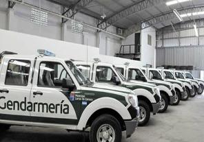 Dotan a Gendarmería de 200 camionetas para el Operativo Centinela