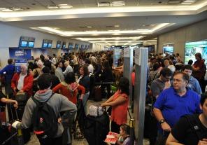 Se normalizaron los vuelos en el aeroparque
