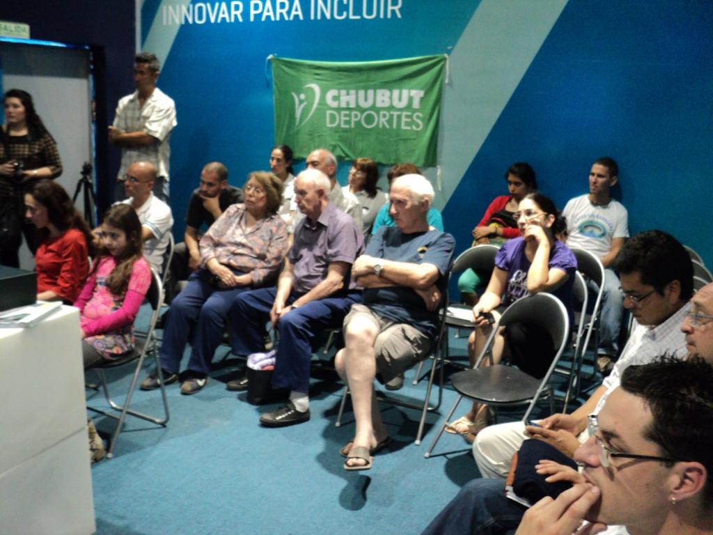 Charla sobre la inclusión de los discapacitados