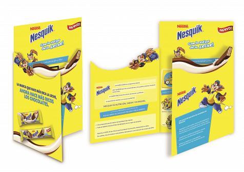 Chocolates de Nesquik