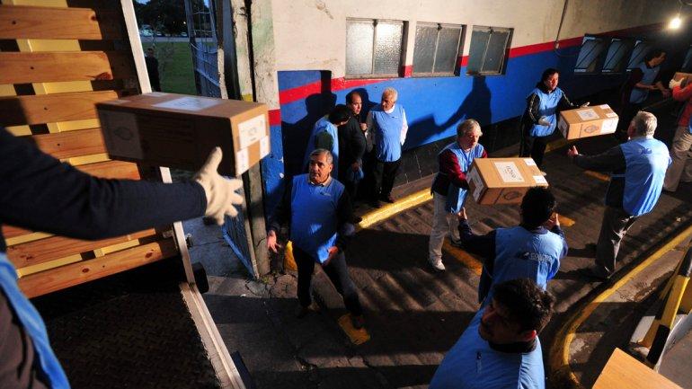 Comienza la distribución de urnas