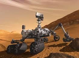 Curiosity encuentra agua en el suelo de Marte
