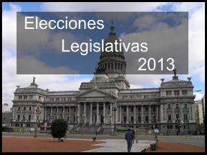 Datos útiles e importantes para las Elecciones Legislativas 2013