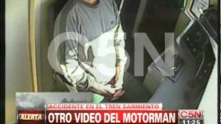 Nuevo video complica más al motorman del accidente de Once