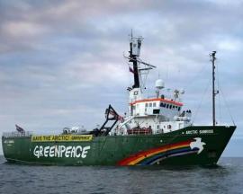 Rusia dice que había drogas en el barco de Greenpeace