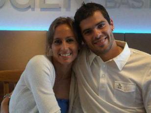 Nació Mateo, el hijo de Fernando Gago y Gisela Dulko