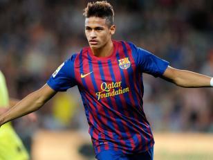 Neymar jugará con Messi en el Barcelona