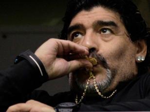 Maradona le ganó un juicio a empresa china de video juegos